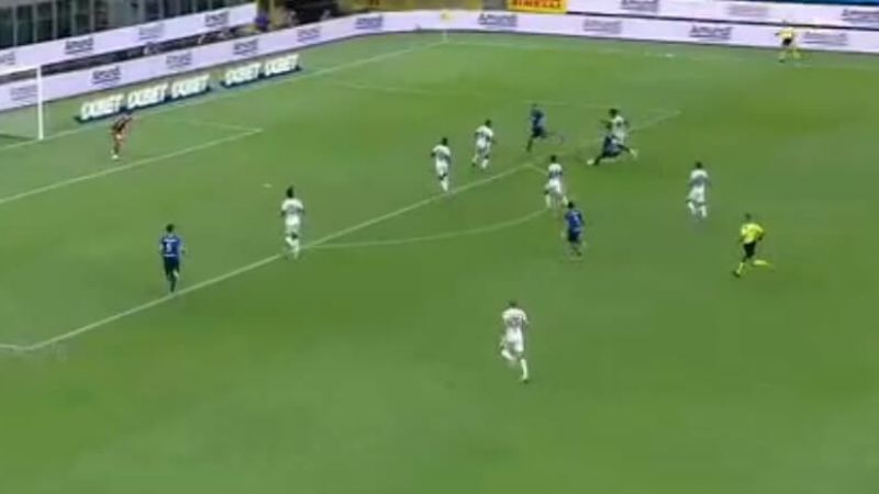 (VIDEO) Lautaro Martínez rompió su sequía en el Inter
