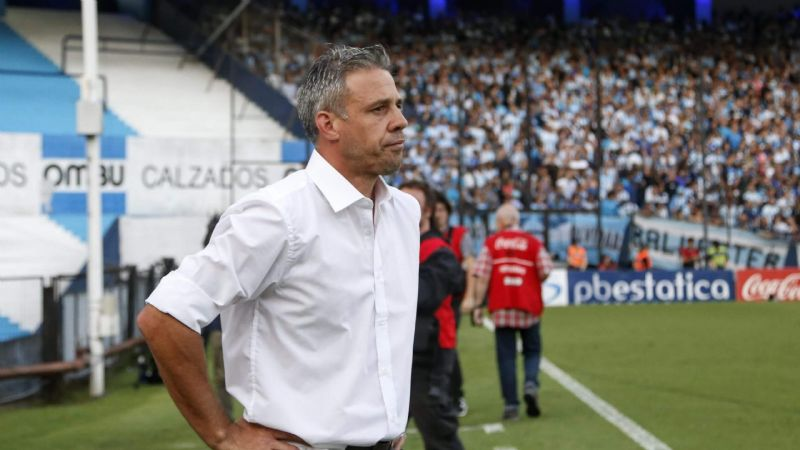 """El partido con Racing fue un accidente"""