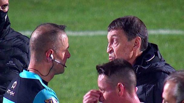 Independiente ya apunta al clásico: Falcioni ya calienta la previa con el  arbitraje | El Crack Deportivo