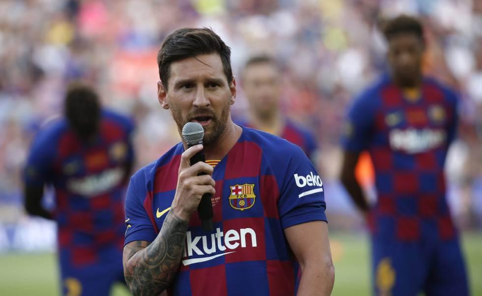 Continuidad de Messi en Barcelona