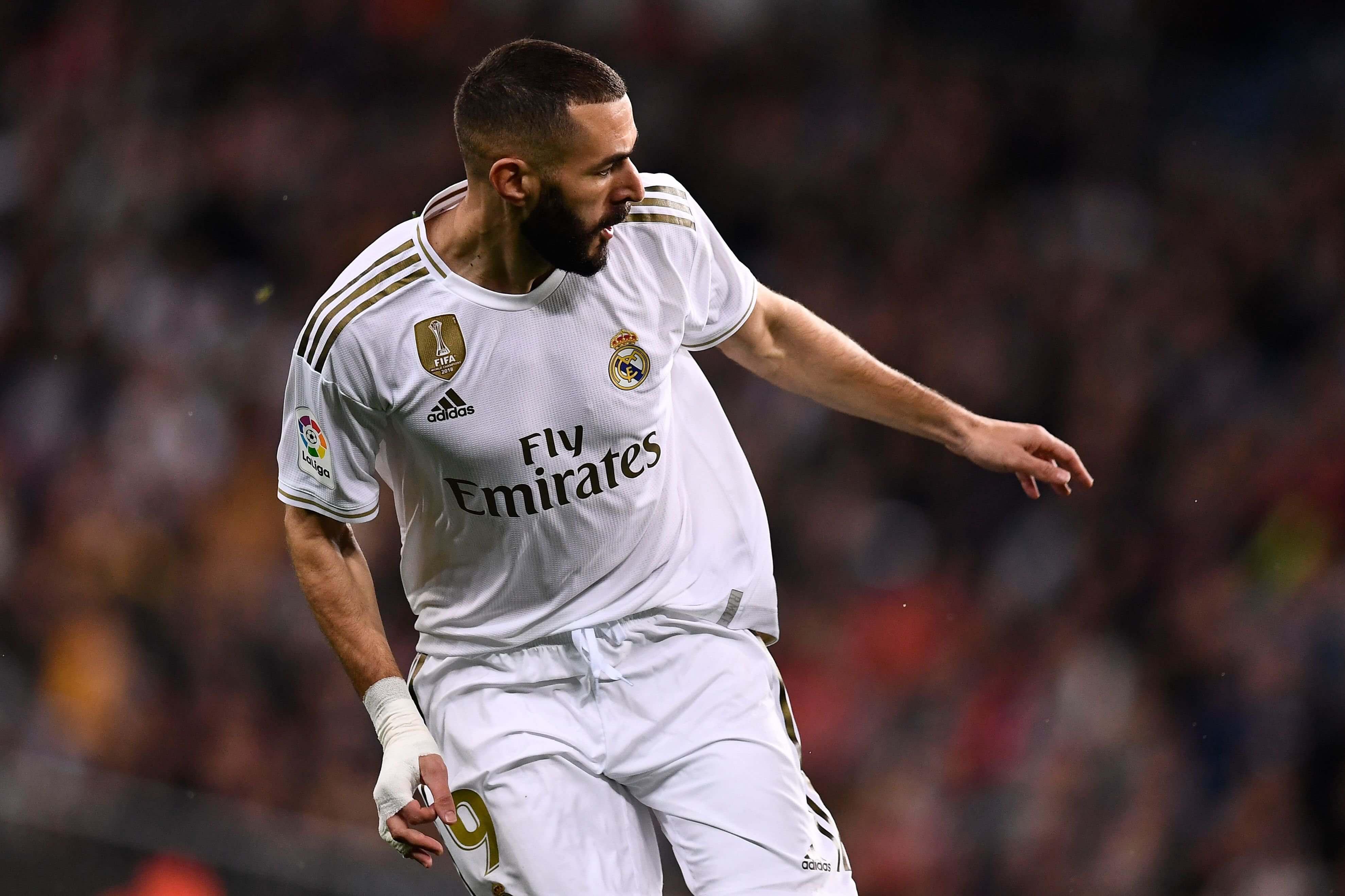 Benzema la figura del Real Madrid