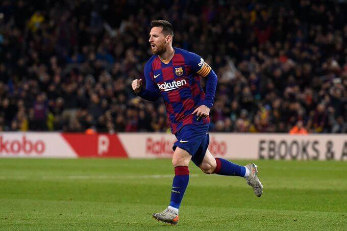 La nueva costumbre de Messi