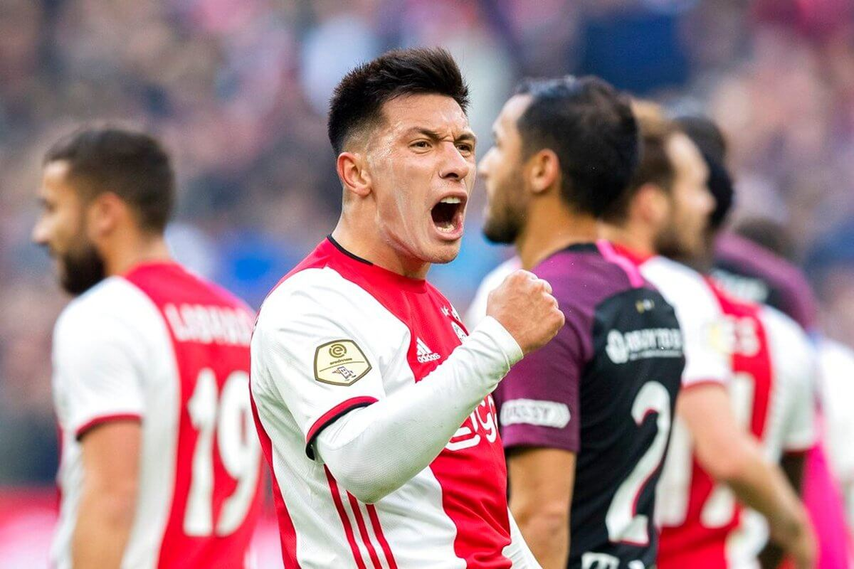 Goleada del Ajax ante el Utrecht