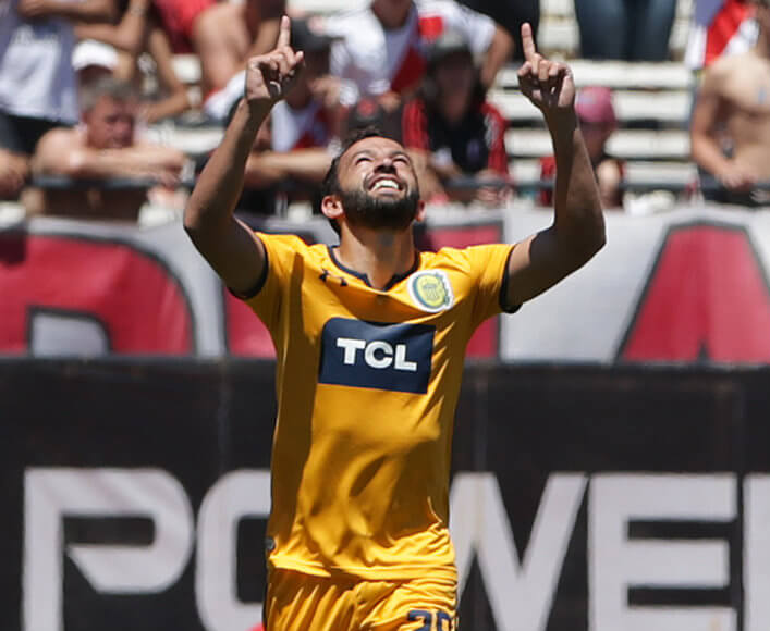 Gamba le dio el triunfo a Rosario Central ante River