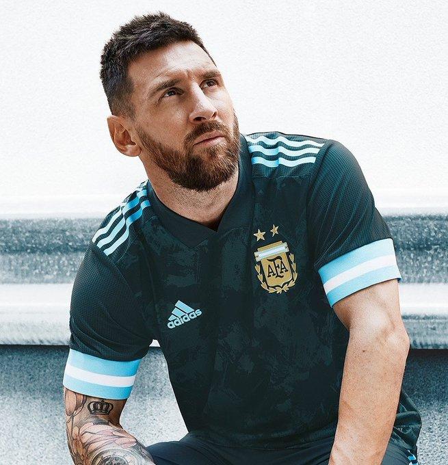 Messi camiseta Seleccion Argentina