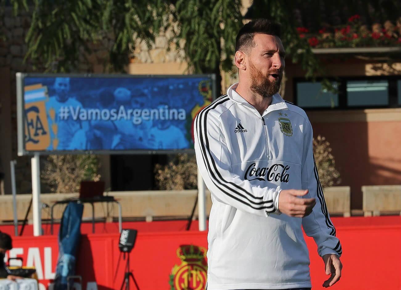 Messi en la Seleccion Argentina