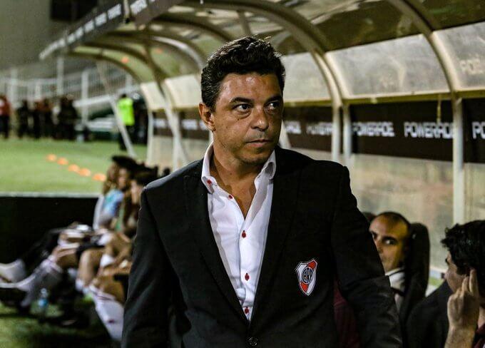 Gallardo preocupado por Enzo Pérez