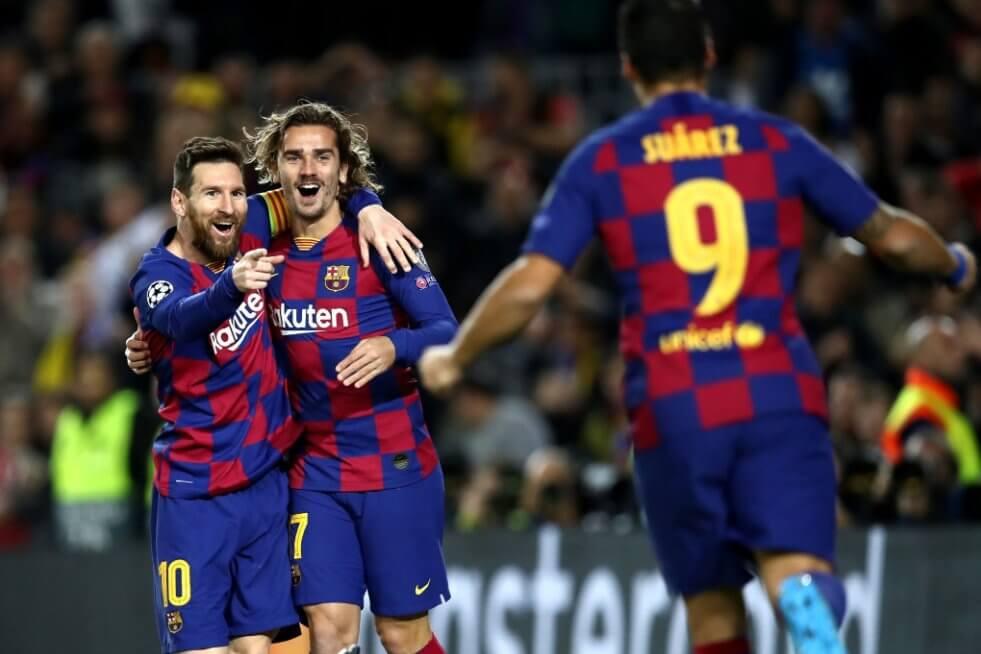 El gol de Messi en el Barcelona