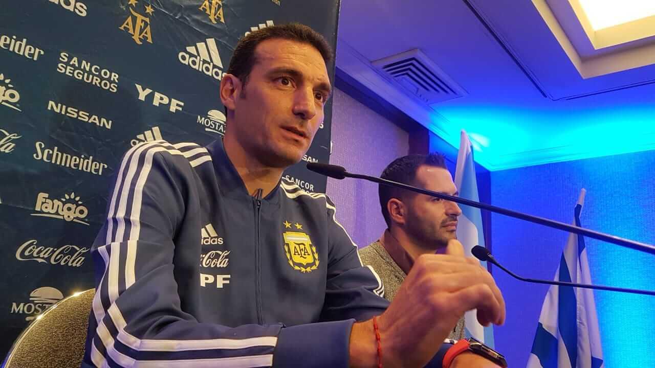 Scaloni confirmó a Messi y Agüero