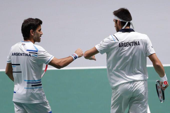 Argentina quedó eliminada de la Copa Davis