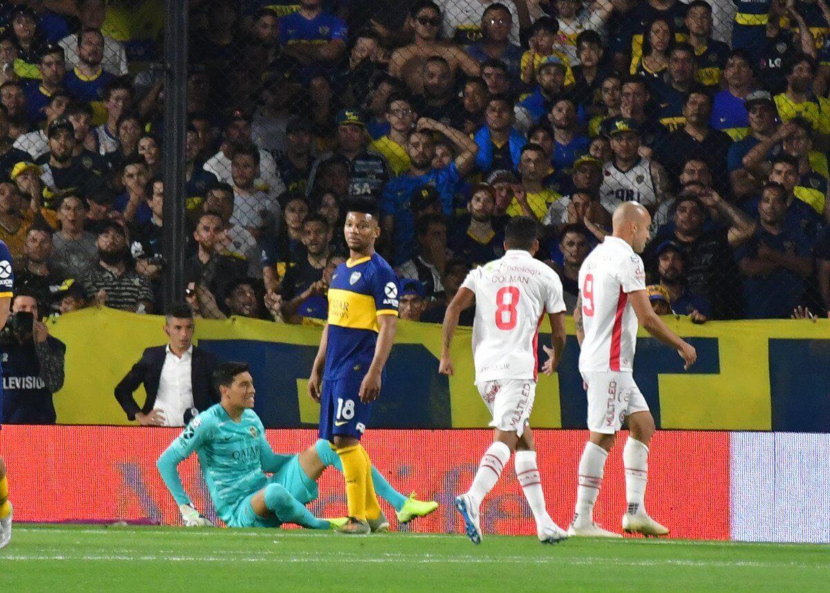 Boca empató con Argentinos Juniors