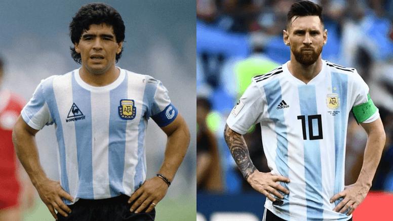 Messi quiere superar a Maradona