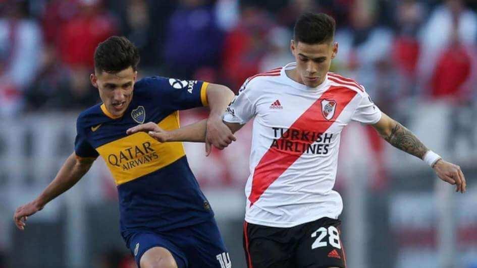 Maxi Rodriguez Newells Boca River