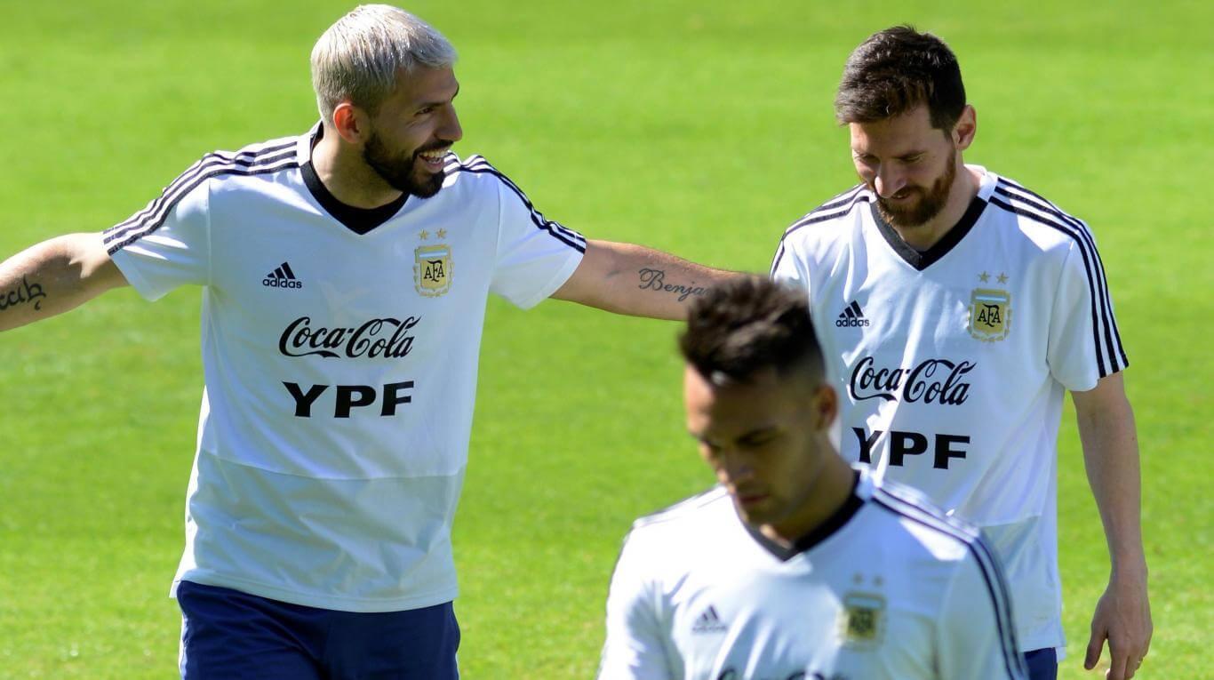 Llegó Messi a la Seleccion