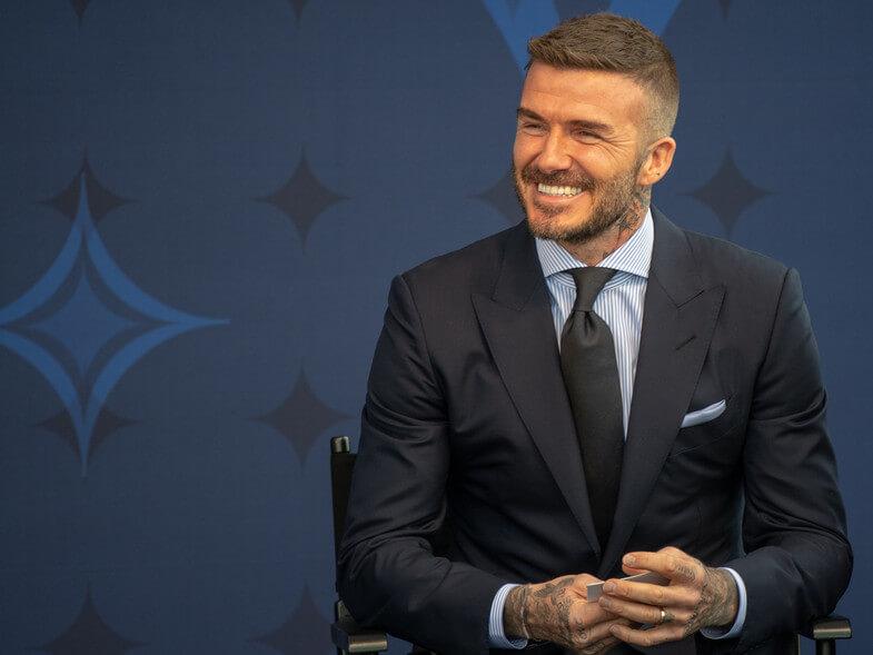 Beckham quiere a Nacho Fernández