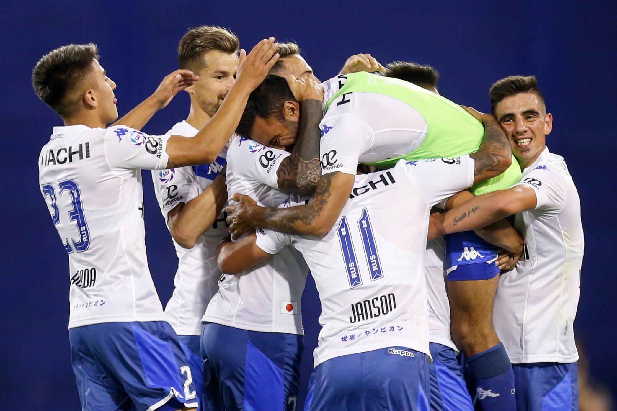 En la despedida de Cubero Vélez le ganó a Colón