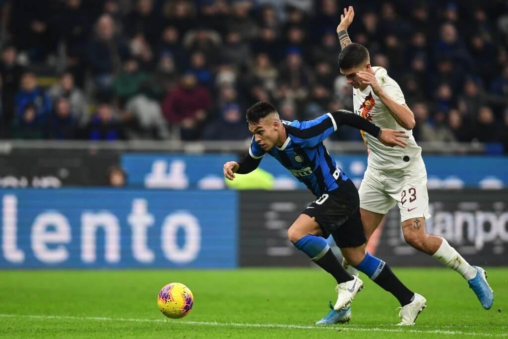 El Inter empató con la Roma