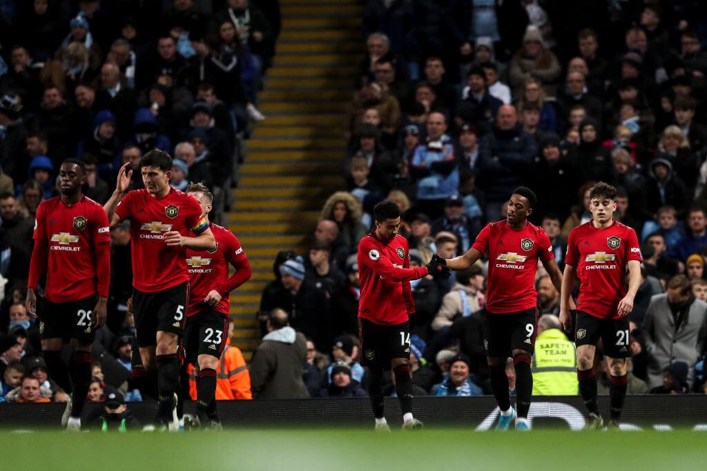 Otamendi Manchester City Manchester United