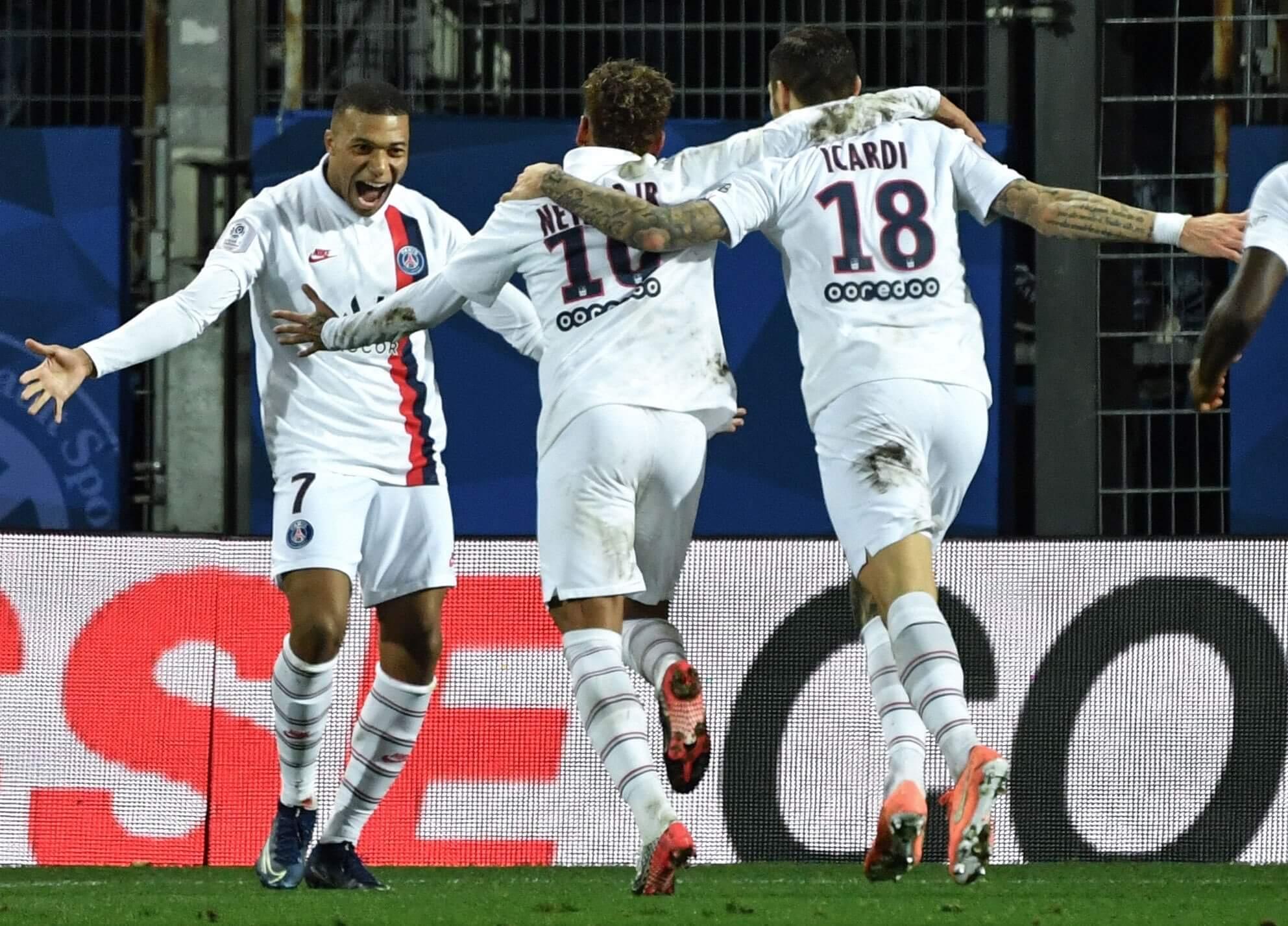 Icardi golazo PSG Montpellier
