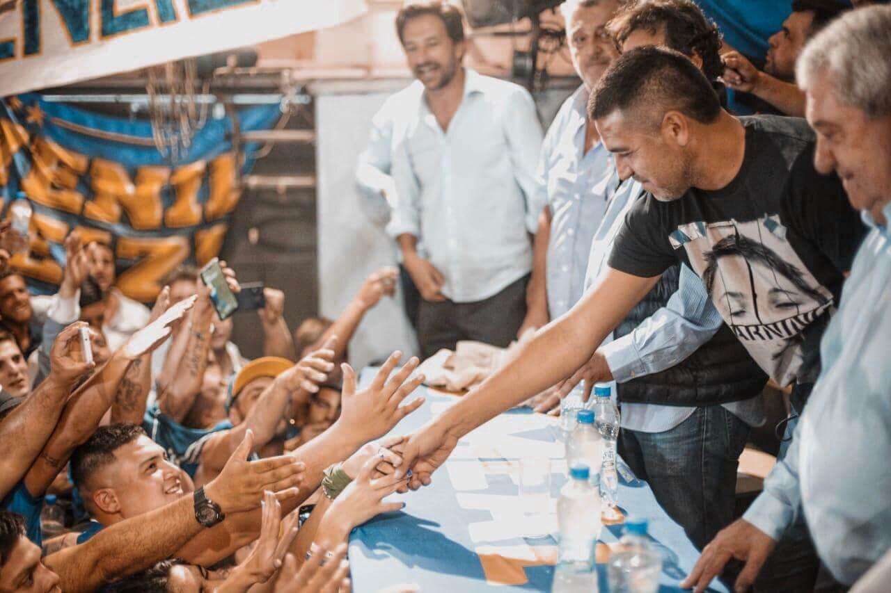 Riquelme Boca Mudo Vázquez
