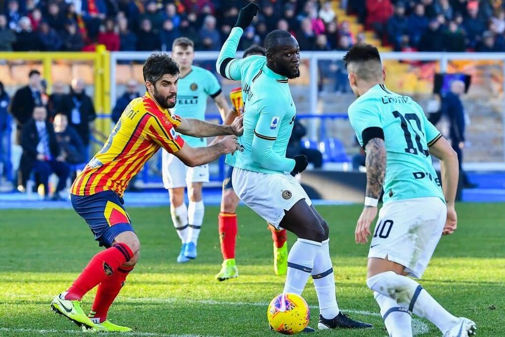 Inter Lecce Lautaro Martínez