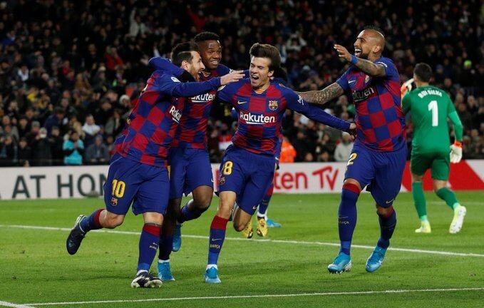 Messi Barcelona Granada