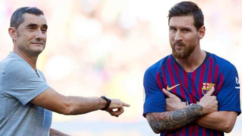 Messi Valverde mensaje