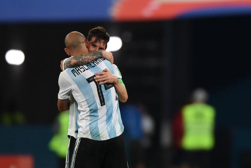 Mascherano Messi fútbol argentino