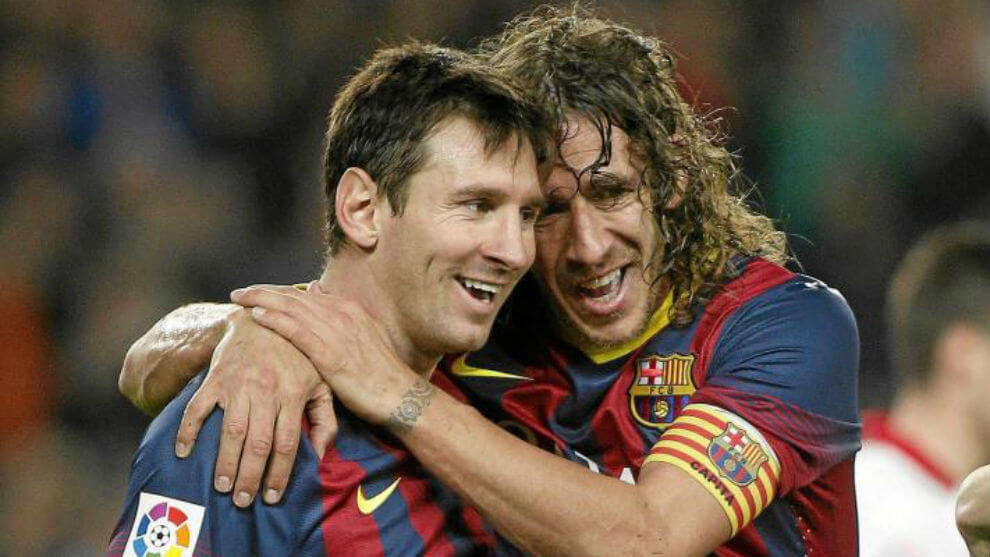 Puyol Messi