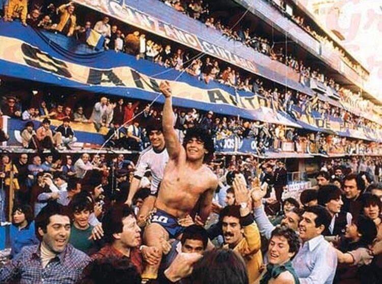 Ghribaudo Maradona Boca
