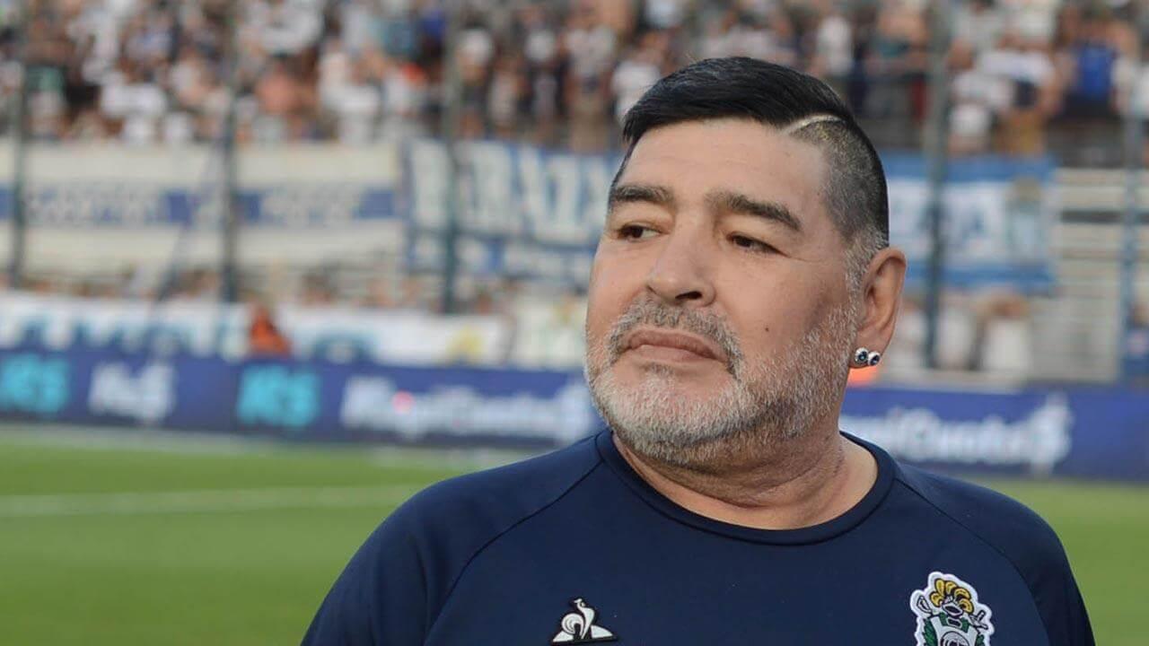 Maradona donación sangre