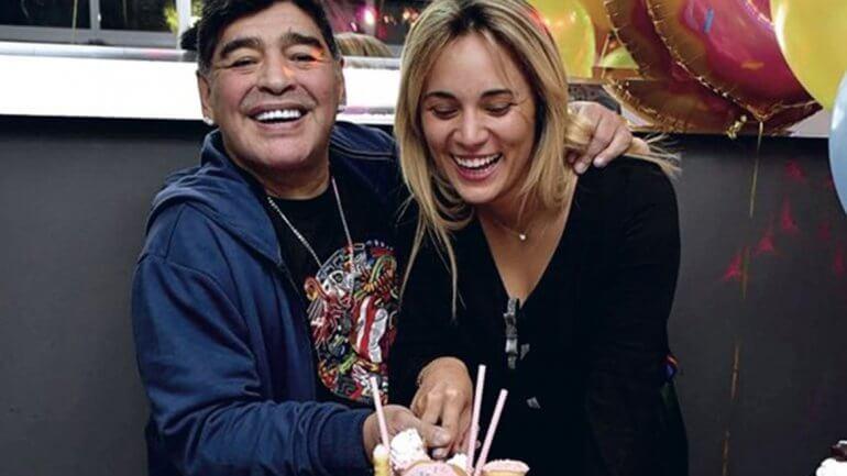 Rocio Oliva Ronaldinho Maradona