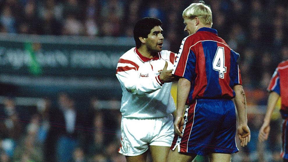 recuerdos Maradona Sevilla