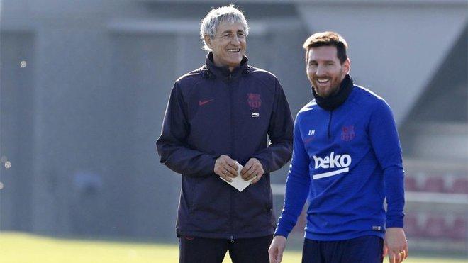 Setien Messi Champions League