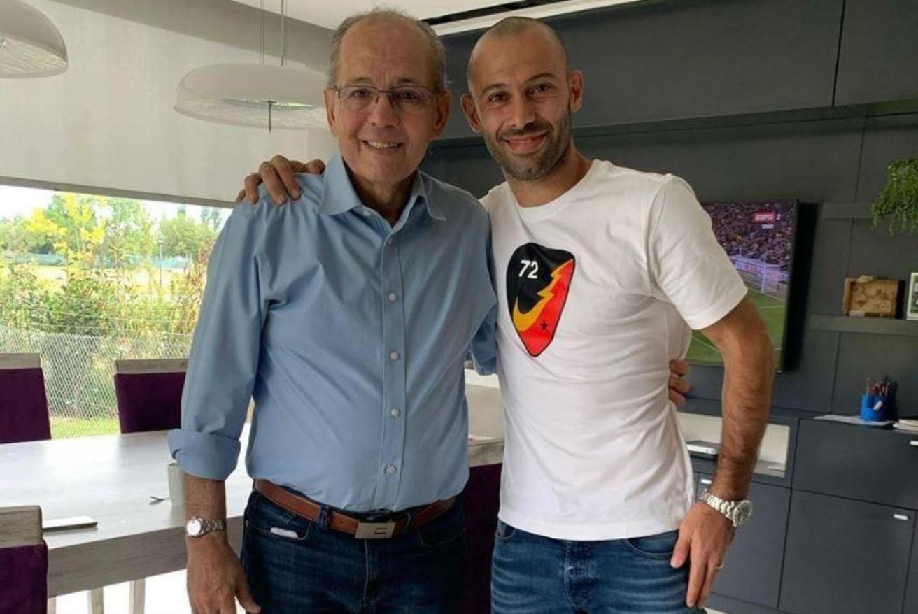 Javier Mascherano Alejandro Sabella Pep Guardiola