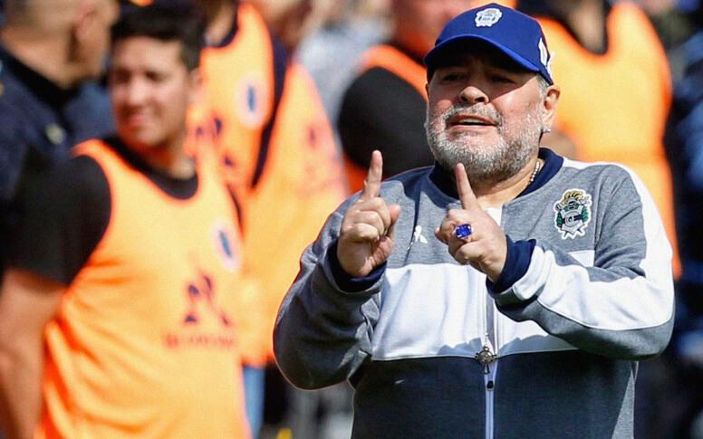Nicolas Frutos Maradona Selección Argentina