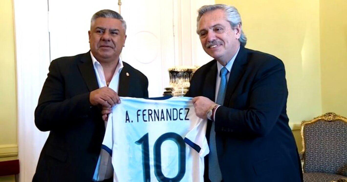 presidente Nación Alberto Fernández fútbol entrenamientos