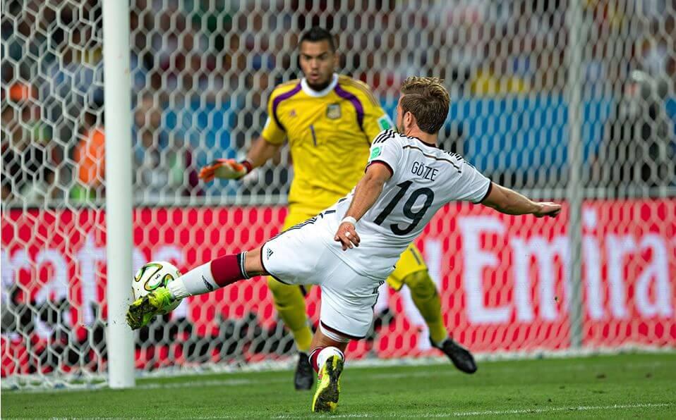 Gotze gol Alemania Argentina