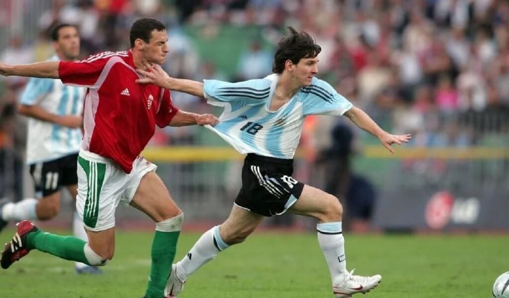 Chelito Delgado Lionel Messi bestia