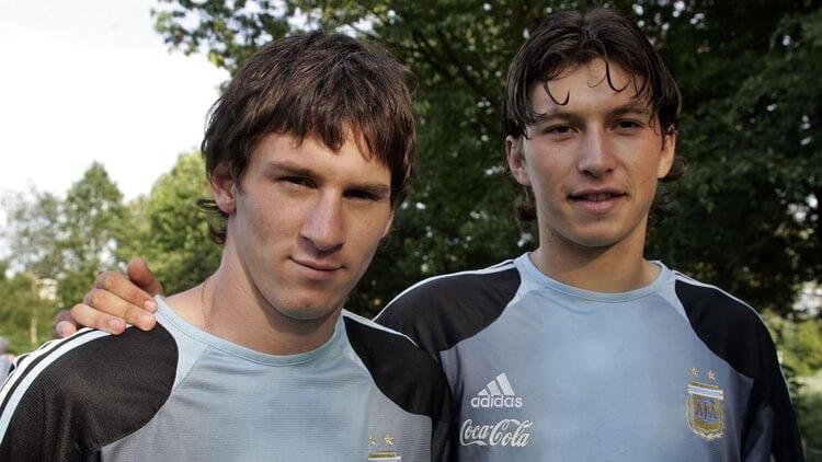 Oberman Messi Agüero