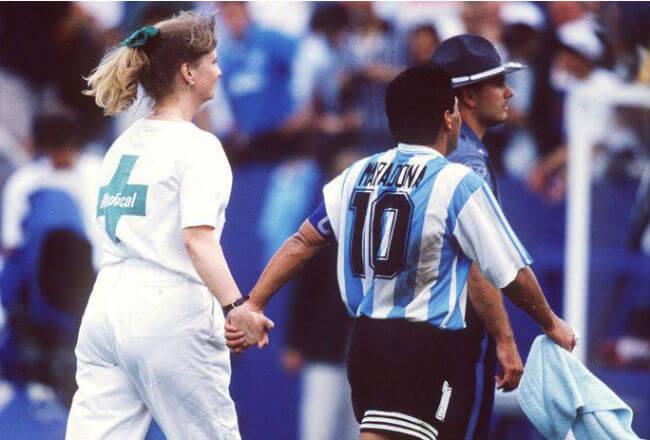 Luis Islas Maradona doping mundial