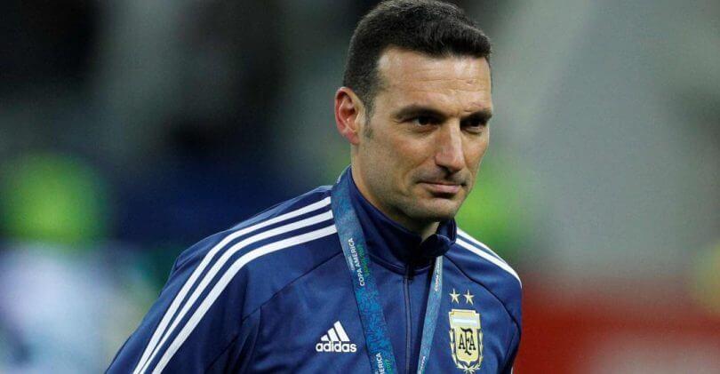 Scaloni Messi Selección Argentina.